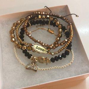 NWOT • Set of 5 • Adjustable Bracelets